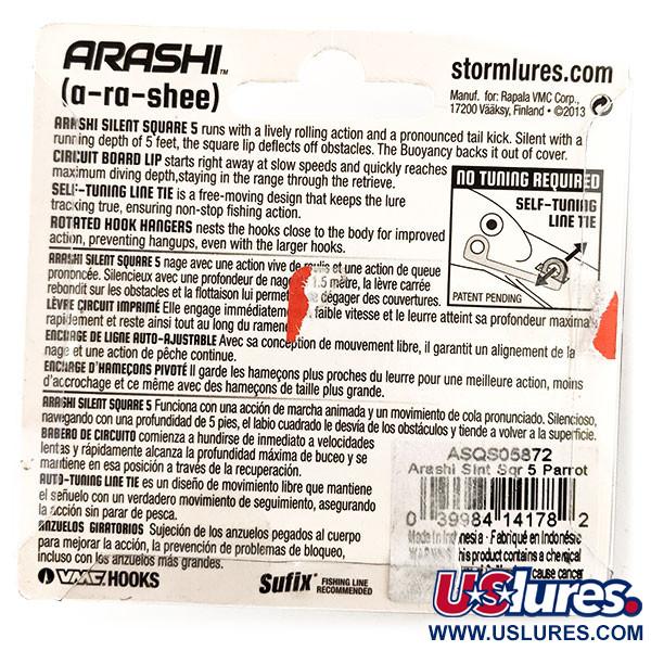 Storm Arashi Silent Square 5