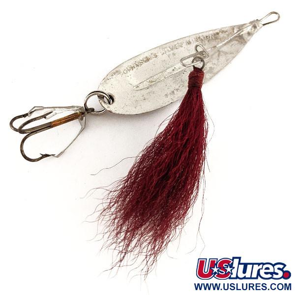 Johnson Silver Minnow  Triple Hook