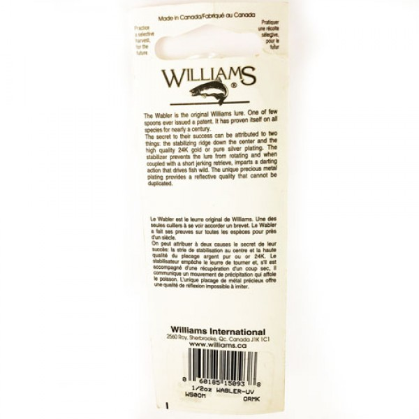 Williams WABLER  W50 UV