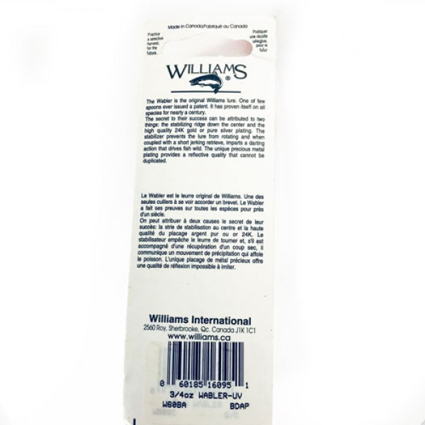Williams WABLER W60 UV
