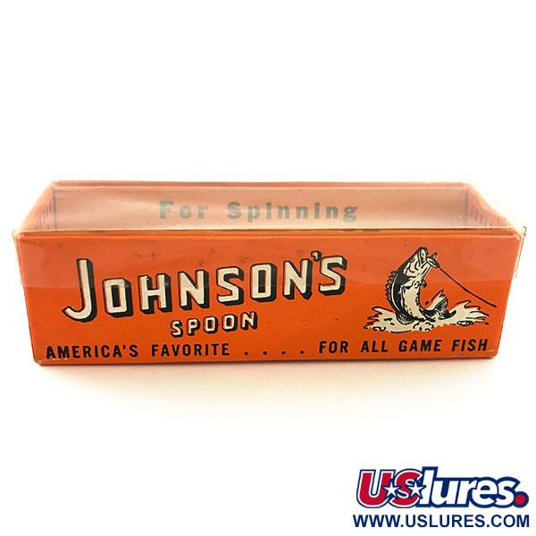 Незацепляйка Johnson Silver Minnow 60-х годов