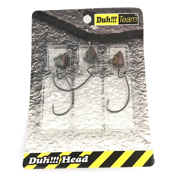 DUH!!! Head набор офсетных джиг-головок