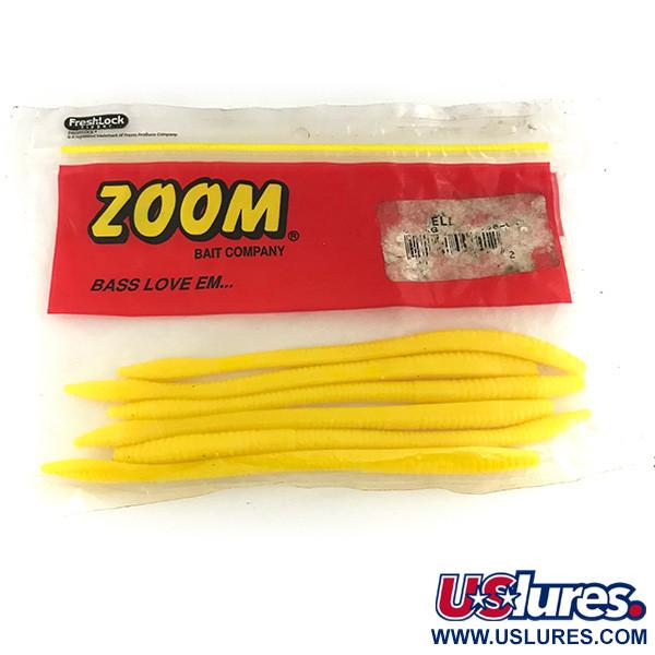 Zoom Finesse Worm, силикон, 6 штук