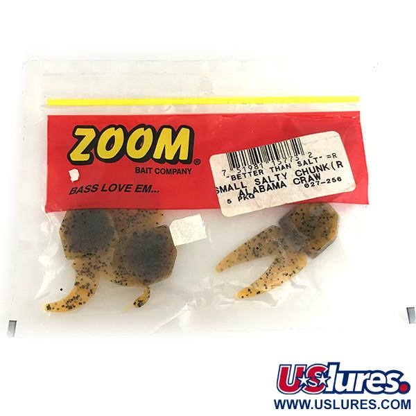 Zoom Small Salty Chunk, силикон, 3 штуки