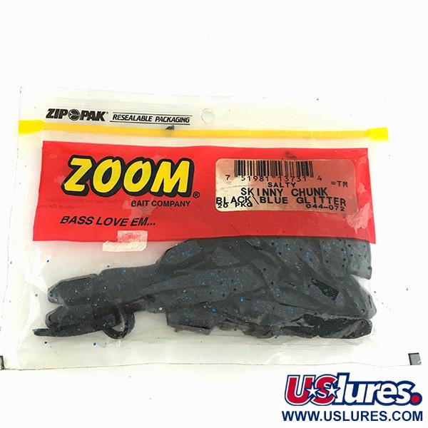 Zoom Skinny Chunk, силикон, 18 штук