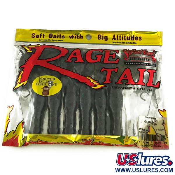 STRIKE KING Rage Tail, силикон, 6 штук