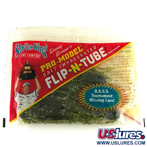 Strike King Flipt-N-Tube, силикон, 7 штук
