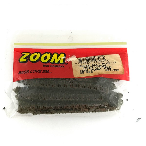 Zoom Centipede силикон, 19 штук