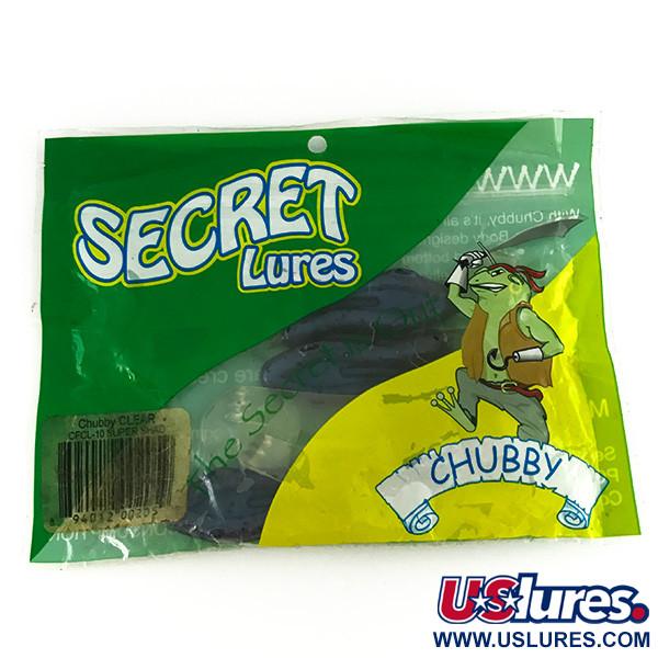 Secret Lures Clear Legged Chubby Frog,  силикон, 4 штуки