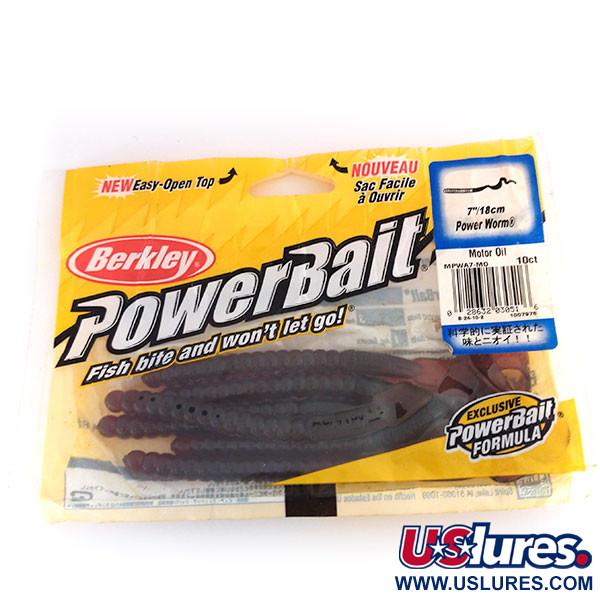 Berkley Power Worm, силикон 6 штук