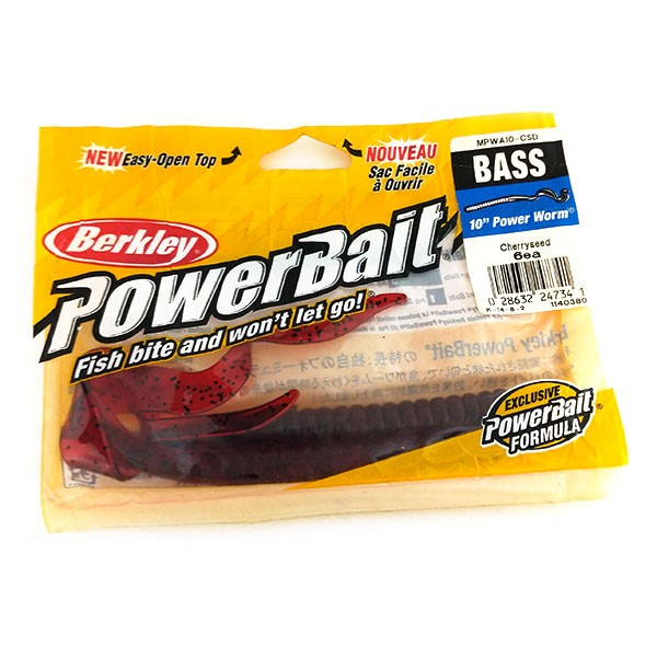 Berkley Powerbait Power Worm, 2 штуки, силикон